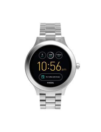 Q Venture Silver Smartwatch