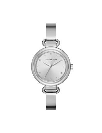 Armani Exchange Madeline Silver Watch