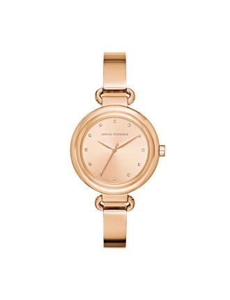 Armani Exchange Madeline Rose Gold Watch