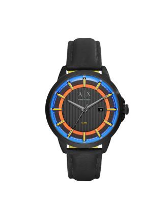 Armani Exchange Copeland Black Watch