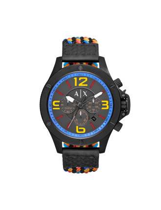 Armani Exchange Wellworn Black Watch