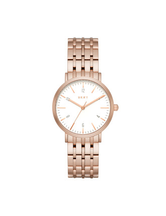 Dkny Dress Case Rose Gold Watch