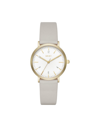 Dkny Dress Case Grey Watch