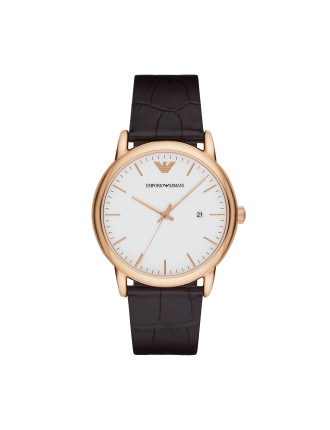 Emporio Armani Luigi Brown Watch