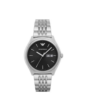 Emporio Armani Zeta Silver Watch