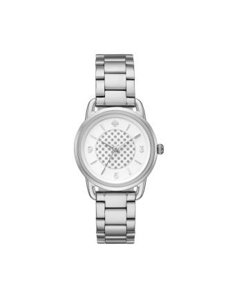 Kate Spade Wire Lug Silver Watch