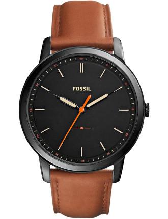 The Minimalist 3h Brown Watch