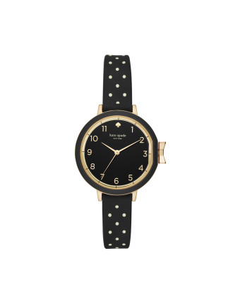 Park Row Silicone Black Watch