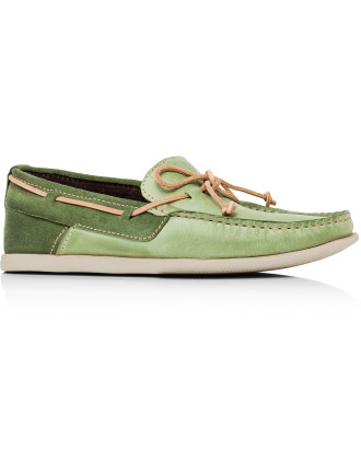 Pebbled Boat Shoe