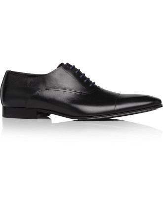 Slento 5 Lace Leather Oxford W/ Rubber Sole