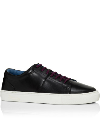 Polished calf sneaker