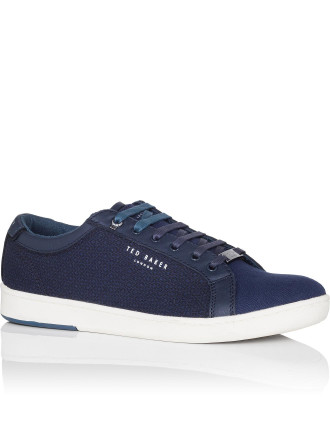 MENS TEXTILE LOW TOP TRAINER
