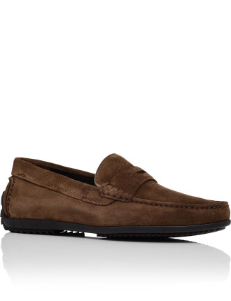 Flairone suede Driving shoe