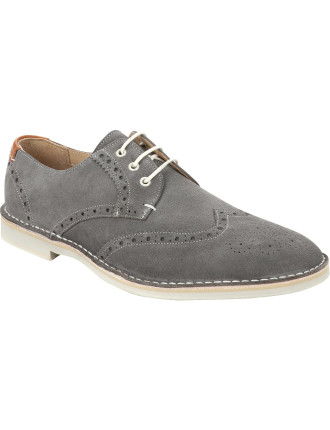 Jamfro  Suede Derby Brogue W/ Bruick Eva Sole