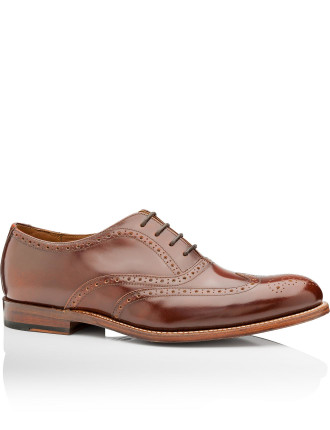 Luther Honey Hi Shine Brogue