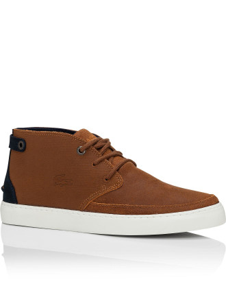 MEN'S SEMI-HIGH-TOP CLAVEL THREE -TONE DERBIES