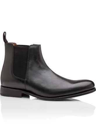 Declan Black Calf Chelsea Boot