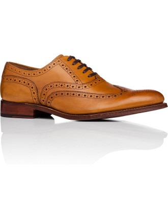 Dylan Oxford W/ Brogue Detailing And Welted Sole