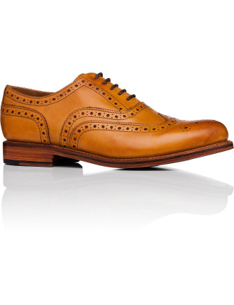 Stanley Oxford W/ Wingtip Brogue Detail And Welted Sole
