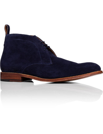 Marcus Suede Chukka Boot W/ Goodyear Welted Sole
