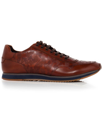 Out Bid Leather Low Profile Runner