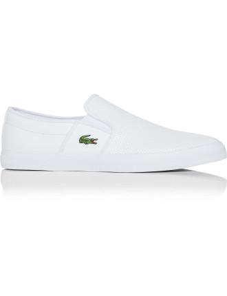 Gazon Sport Low Profile Leather Slip On Sneaker