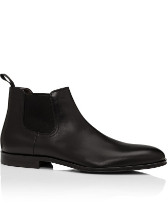Scubeat Leather Dress Chelsea Boot