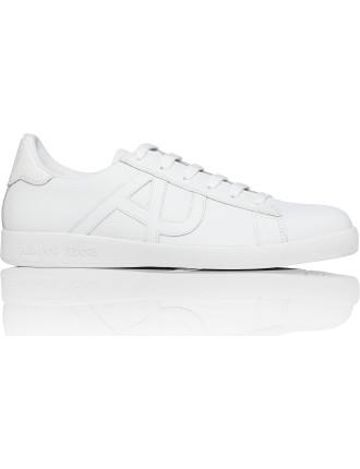 Action Leather Tonal Retro Tennis Sneaker