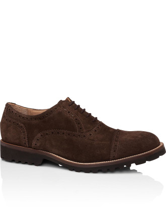 Suede Oxford With Hiking Tred Sole