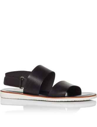 Two Strap Sandal With Back Strap & Micro Sole