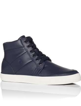 Isaak Leather High Top W/ Eva Footbed