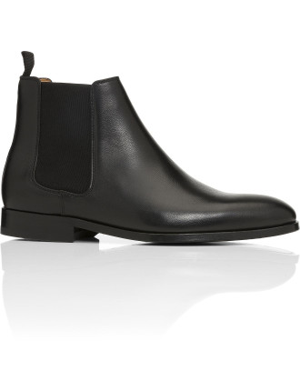 GERALD Pebbled Leather Chelsea boot