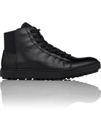 Kick Back High Top Sneaker W/ Side Zip