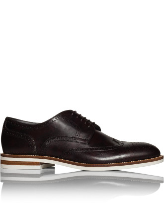 Deeder-Lt Leather Casual Derby W/ Micro Sole
