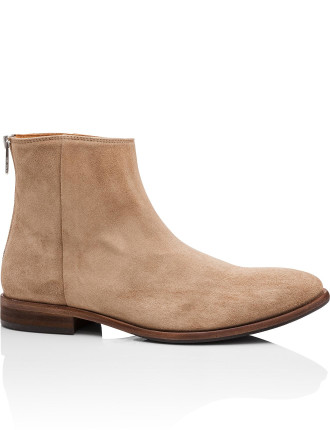 JEAN suede zip boot