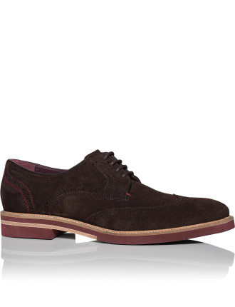 Suede Derby with Micro Contrast Sole