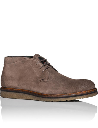 Tuned Suede Desert Boot