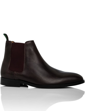 Gerald Calf Leather Chelsea Boot