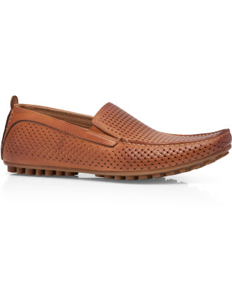 Cascade Perforated Driving Shoe