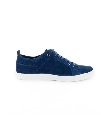 Cult Suede Casual Sneaker With Rubber Sole