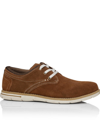 Mandalay Three Hole Derby Casual With Rubber Sole