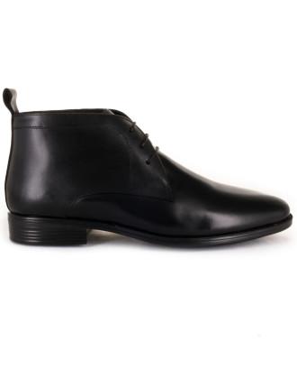 Olished Leather Dress Boot