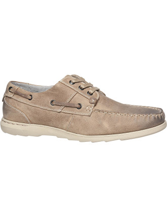Quest Mens Boat Shoe