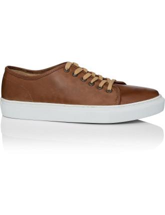 Leather Low Profile Sneaker
