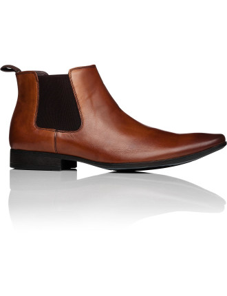 Brazen Leather Chelsea Boot