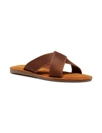 Yield Leather Slide