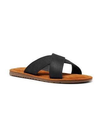 Yield Leather  X-Cross Slide