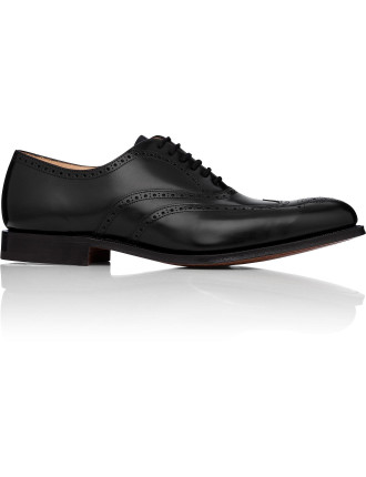 New York Wing Tip Brogued Oxford Dress Shoe