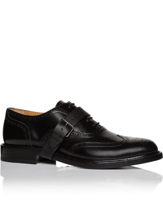 Rivet Spazzalatto oxford derby w/ buckle