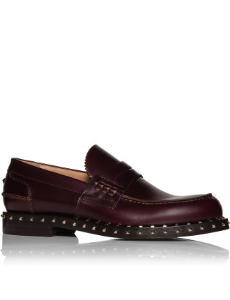 Spazzolatto Leather Penny Loafer